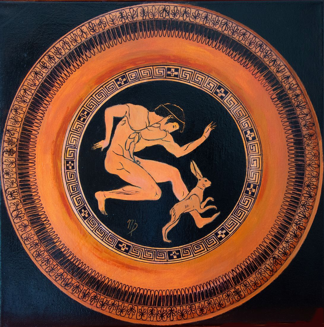 Ancient Greek Mandala by Margarita Riaikkenen
